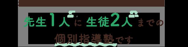 北習志野・高根木戸の個別指導のレッツは、先生1人に生徒2人までの個別指導塾です